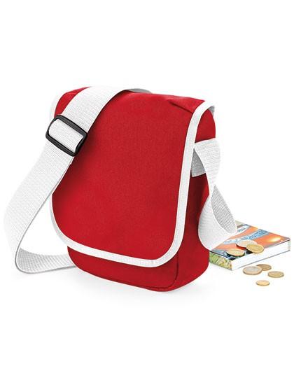 Mini Reporter - Freizeittaschen - Freizeit-Umhängetaschen - BagBase Black - Black