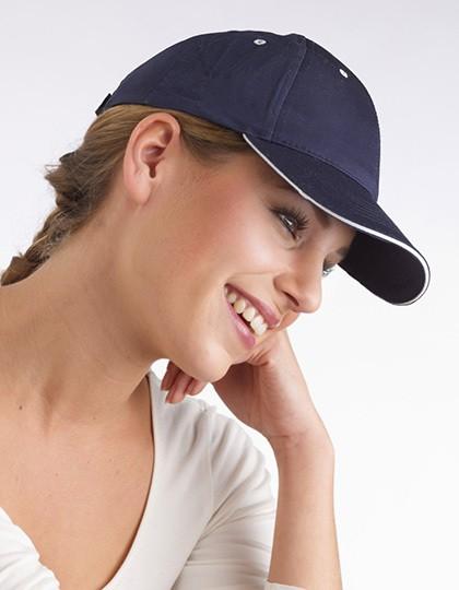 Baseball-Cap mit Klettverschluss - Caps - 6-Panel-Caps - Printwear Black