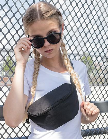 Hip Bag - Freizeittaschen - Hüfttaschen - Build Your Brand Black