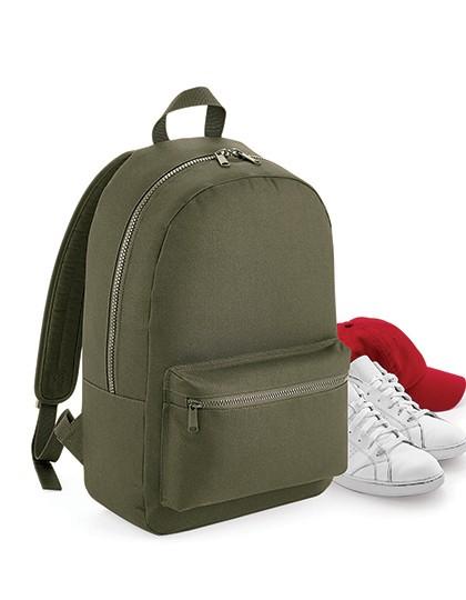 Essential Fashion Backpack - Rucksäcke - Freizeit-Rucksäcke - BagBase Black