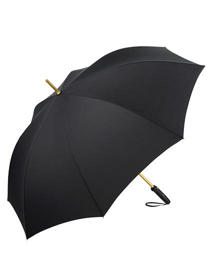 AC-Alu-Gästeschirm FARE®-Precious - FARE Black - Gold