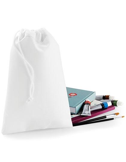 Sublimation Stuff Bag - Sublimationstextilien - Sublimationstaschen - BagBase White