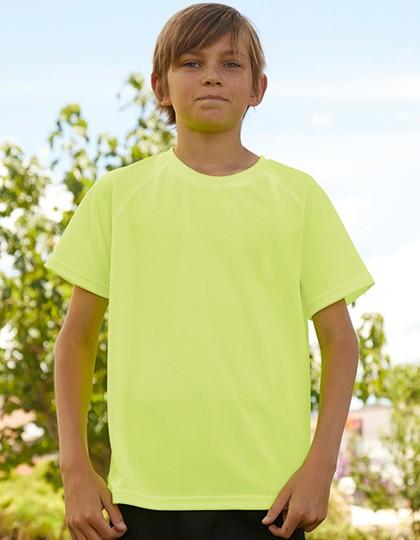 Kids Performance T - Sports & Activity - Basic Sport Shirts - Fruit of the Loom Azure Blue