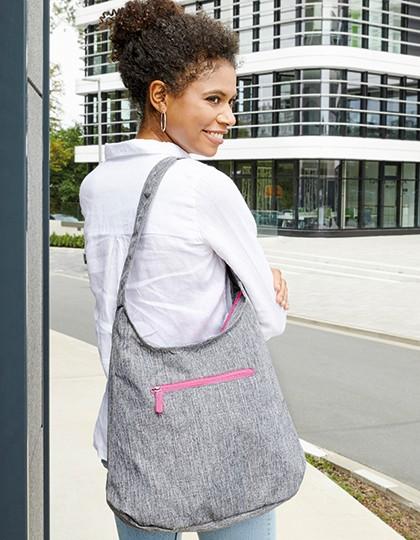 Lady Bag - Union Square - Freizeittaschen - Einkaufstaschen - Bags2GO Grey Melange - Black