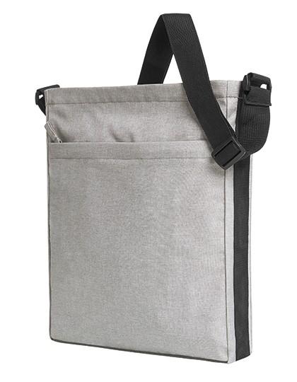 Shoulder Bag Circle - Halfar Black-Sprinkle