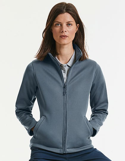 Ladies` Smart Softshell Jacket - Jacken - Jacken (Softshell) - Russell Black