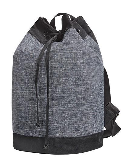 Duffle Bag Elegance - Halfar Black - Grey-Sprinkle