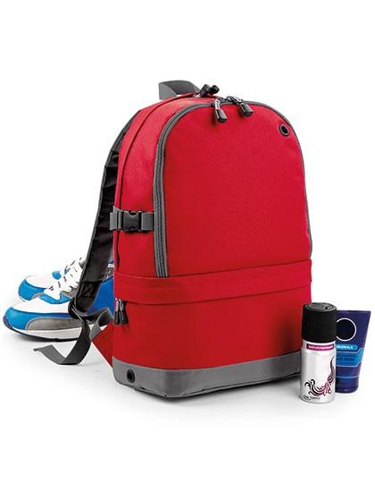 Athleisure Pro Backpack - Rucksäcke - Freizeit-Rucksäcke - BagBase Black
