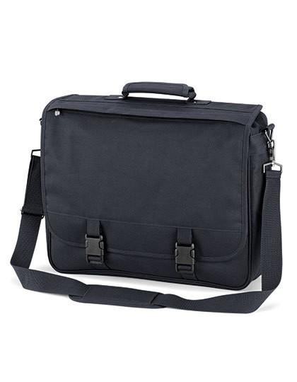 Portfolio Briefcase - Businesstaschen - Umhängetaschen - Quadra Black