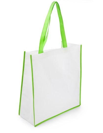 Einkaufstasche Bern - Baumwoll- & PP-Taschen - Jute-Taschen - Printwear White - Black