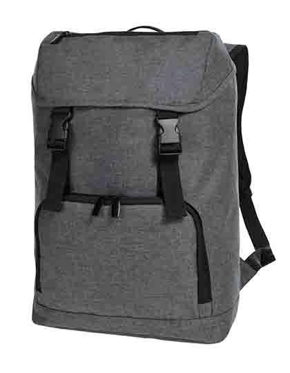 Backpack Fashion - Rucksäcke - Freizeit-Rucksäcke - Halfar Blue-Grey Melange