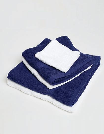 Luxury Face Cloth - Frottierwaren - Accessoires - Towel City White