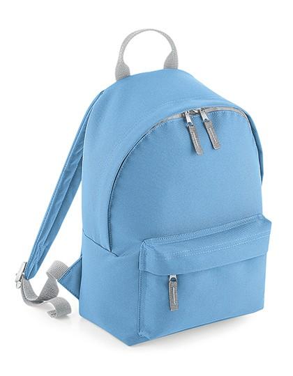 Mini Fashion Backpack - BagBase Black - Black