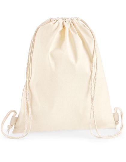 Premium Cotton Gymsac - Baumwoll- & PP-Taschen - Baumwolltaschen - Westford Mill Black
