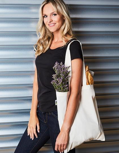 Baumwolltasche, Fairtrade-Baumwolle, lange Henkel - Baumwoll- & PP-Taschen - Fairtrade Baumwolltaschen - Printwear Natural
