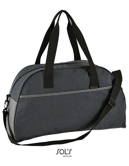 Dual Material Travel Bag Move - Freizeittaschen - Sport- & Reisetaschen - SOL´S Bags Charcoal Melange