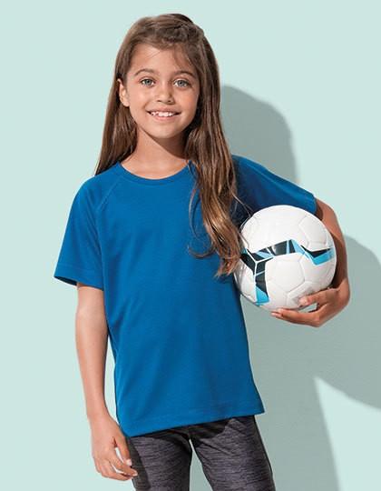 Active 140 Raglan Kids - Kinderbekleidung - Kinder Sportshirts - Stedman® Black Opal