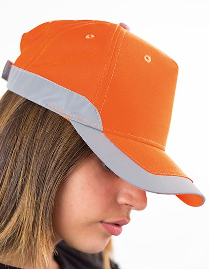 Helpy Cap - Caps - Sicherheits-Caps - Atlantis Orange Fluo