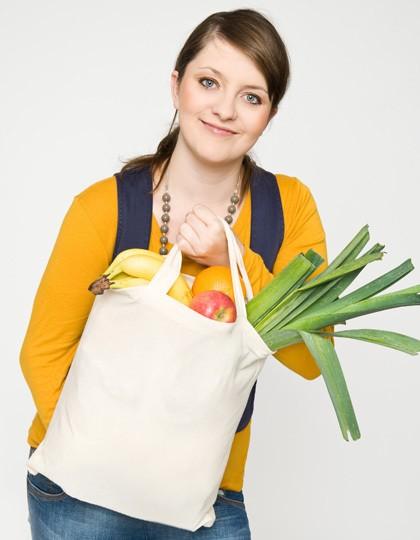 Baumwolltasche, kurze Henkel, Basic - Baumwoll- & PP-Taschen - Baumwolltaschen - Printwear Natural