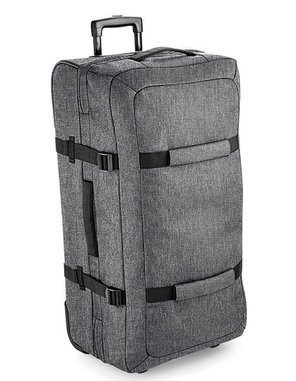 Escape Check-In Wheelie - BagBase Black
