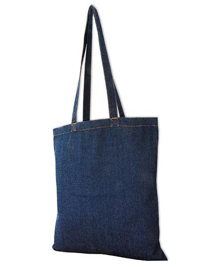 Jeans Bag - Long Handles - Freizeittaschen - Einkaufstaschen - Link Kitchen Wear Denim