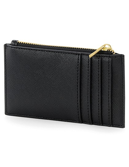 Boutique Card Holder - BagBase Black