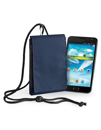 Phone Pouch XL - Freizeittaschen - Handytaschen - BagBase Black