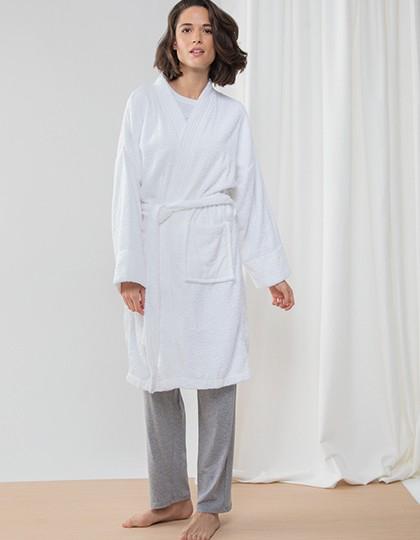 Kimono Robe - Frottierwaren - Bademäntel - Towel City Navy