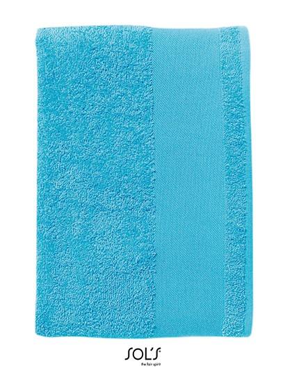 Hand Towel Island 50 - Frottierwaren - Handtücher - SOL´S Black