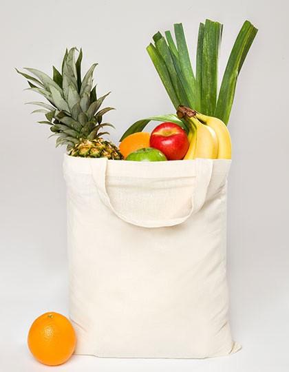 Baumwolltasche, kurze Henkel PREMIUM - Baumwoll- & PP-Taschen - Baumwolltaschen - Printwear Natural
