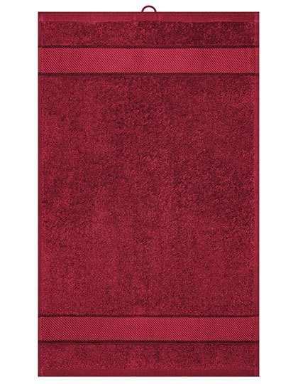 Guest Towel - Myrtle beach Red