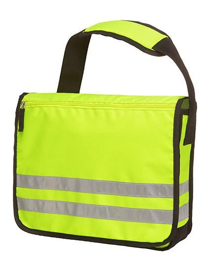Shoulder bag Reflex - Freizeittaschen - Freizeit-Umhängetaschen - Halfar Neon Yellow