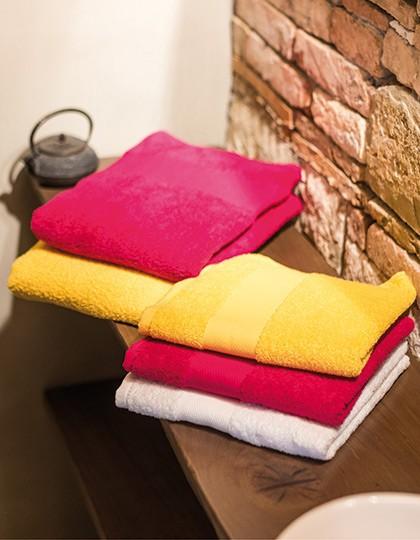 Classic Hand Towel - Frottierwaren - Handtücher - Bear Dream Acqua (Aqua)