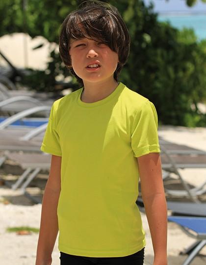 Junior Quick Dry T-Shirt - Activity Concepts - Spiro Breathe to Perform - SPIRO Black