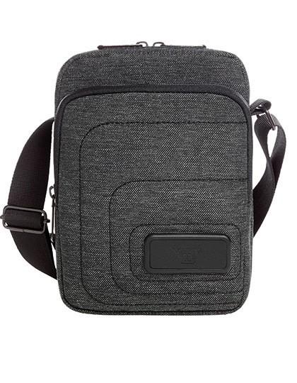CrossBag Frame - Halfar Black - Grey-Sprinkle