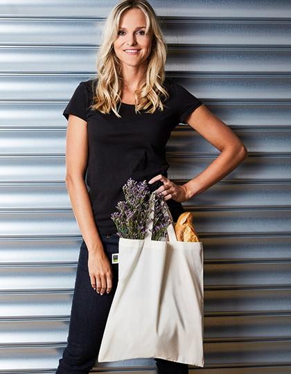 Baumwolltasche, Fairtrade-Baumwolle, kurze Henkel - Baumwoll- & PP-Taschen - Fairtrade Baumwolltaschen - Printwear Natural