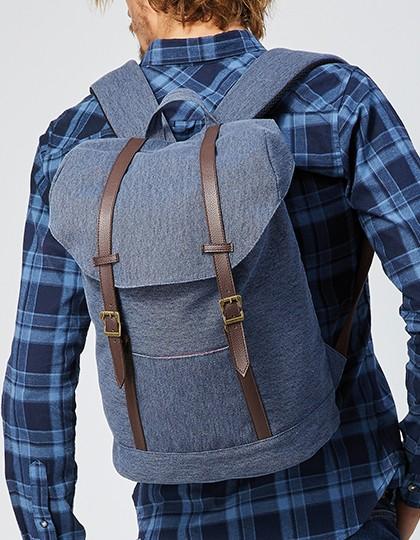 Daypack - Cornwall - Rucksäcke - Freizeit-Rucksäcke - Bags2GO Blue Melange
