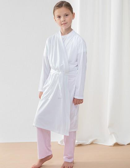 Children`s Robe - Kinderbekleidung - Kinder Sport- & Freizeithosen - Towel City Black