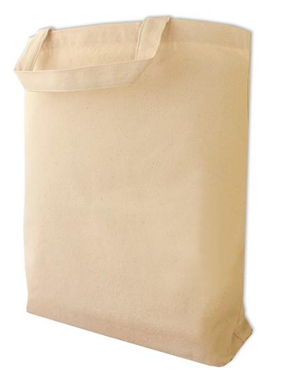 Canvas Carrier Bag Short Handle - Halink Black
