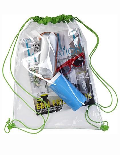 Transparent Backpack - Rucksäcke - Freizeit-Rucksäcke - Printwear Black