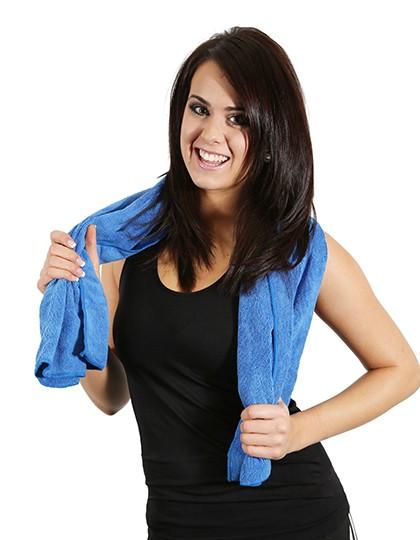 Sport-Handtuch - Frottierwaren - Handtücher - Printwear Blue