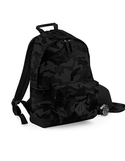 Camo Backpack - Rucksäcke - Freizeit-Rucksäcke - BagBase Jungle Camo