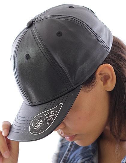 Lewis - Baseball Cap - Caps - 6-Panel-Caps - Atlantis Black