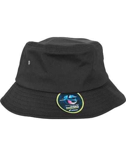 Nylon Bucket Hat - FLEXFIT Black