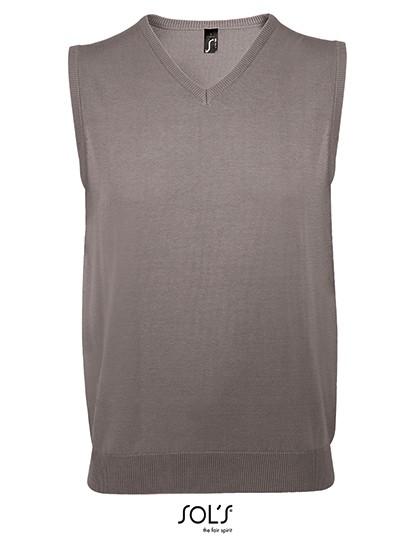 Unisex Sleeveless Sweater Gentlemen - Pullover & Strickwaren - Pullover - SOL´S Black