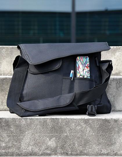 Messenger Bag - Businesstaschen - Laptop-Taschen - CONA SPORTS Black