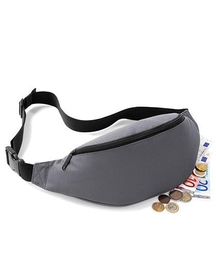 Belt Bag - Freizeittaschen - Hüfttaschen - BagBase Black
