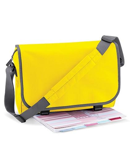 Messenger Bag - Businesstaschen - Umhängetaschen - BagBase Black