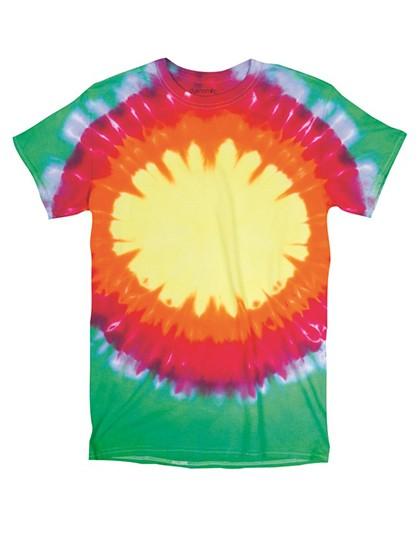 Bullseyes Youth T-Shirt - Kinderbekleidung - Kinder T-Shirts - Dyenomite Teardrop Bullseye