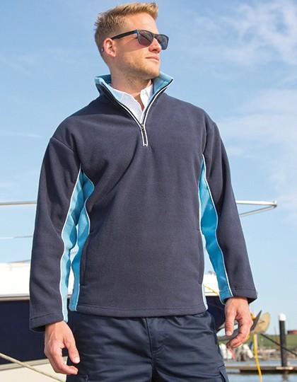 Tech3™ Thermal Fleece Top - Fleece - Half Zip Fleece - Result Black - Orange